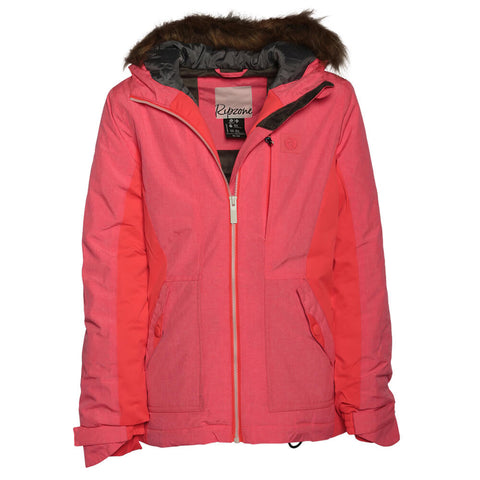 RIPZONE GIRL'S DUSTY INSULATED JACKET DIVA MELANGE