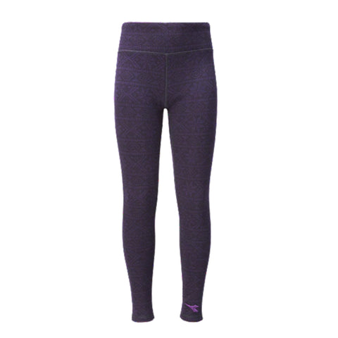 DIADORA GIRLS'' HUG ME LEGGING BLACKBERRY CORDIAL/PERISCOPE