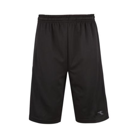 DIADORA BOYS' STRETCH WOVEN SHORT BLACK
