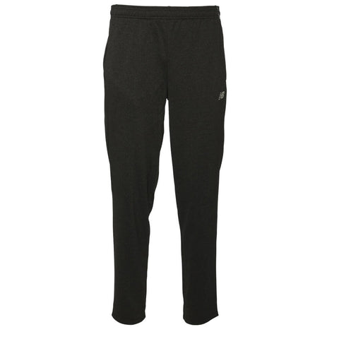 NEW BALANCE MEN'S CORE KNIT PANT DARK GREY HEATHERED