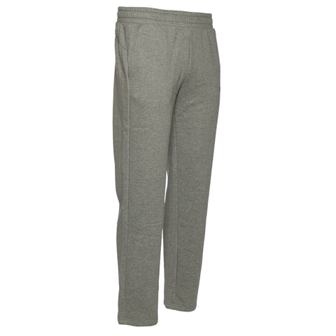 b94e2fb1195b ... PUMA MEN S ESSENTIAL LOGO OPEN HEM FLEECE PANT MEDIUM GREY HEATHER