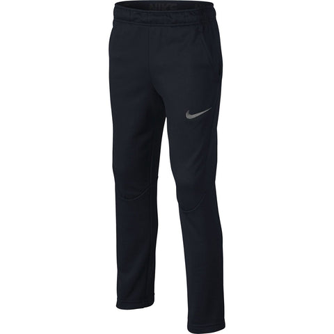 NIKE BOYS' THERMA OH FLEECE PANT BLACK