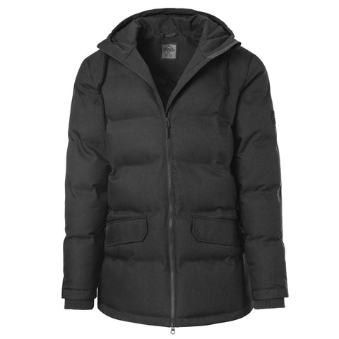 MCKINLEY MEN'S OAKLAND DOWNLOOK PARKA BLACK MELANGE