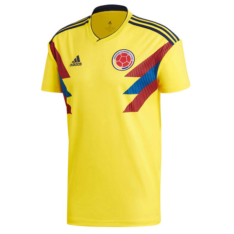 ADIDAS MEN'S 2018 COLOMBIA HOME REPLICA JERSEY YELLOW
