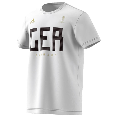 ADIDAS MEN'S WORLD CUP 2018 FAN TOP GERMANY