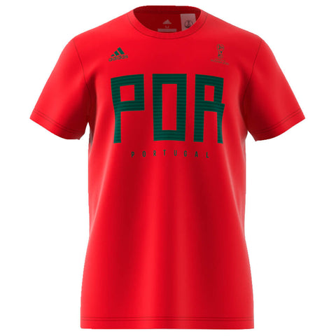 ADIDAS MEN'S WORLD CUP 2018 FAN TOP PORTUGAL