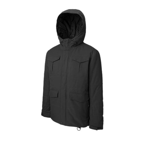 RIPZONE MEN'S WHISKY INSULATED JACKET BLACK