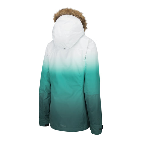 RIPZONE WOMEN'S SEEKER INSULATED JACKET BLUE GRADIENT