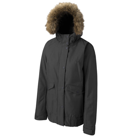 RIPZONE WOMEN'S WHITETAIL INSULATED JACKET BLACK MELANGE