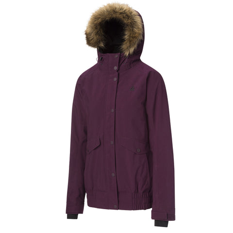 RIPZONE WOMEN'S WHITETAIL INSULATED JACKET CRUSHED VIOLET