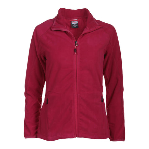 MCKINLEY WOMEN'S NELIA II FLEECE TOP PERSIAN RED