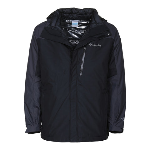 COLUMBIA MEN'S WHIRLIBIRD INTERCHANGE OH OT JACKET BLACK