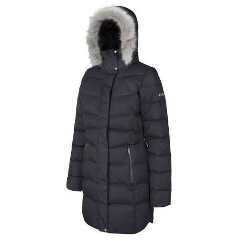 COLUMBIA WOMEN'S MONTFERLAND MID JACKET BLACK