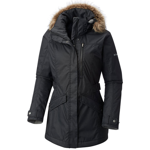 COLUMBIA WOMEN'S FOGGY BREAKER JACKET BLACK