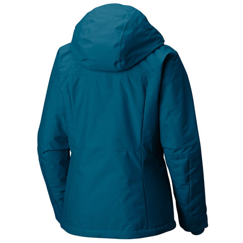 COLUMBIA WOMEN'S ALPINE ACTION JACKET LAGOON CROSSDYE
