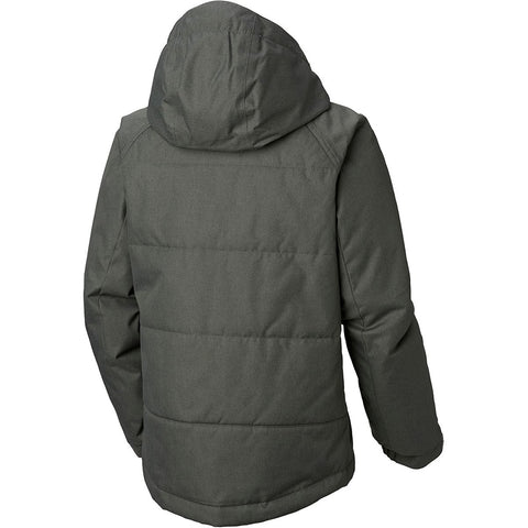 COLUMBIA BOYS' CASUAL SLOPES JACKET GRILL HEATHER