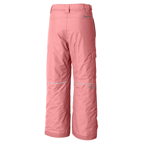 COLUMBIA GIRLS' BUGABOO II INSULATED PANT TIKI PINK