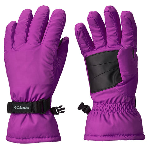 COLUMBIA GIRLS' CORE GLOVE BRIGHT PLUM