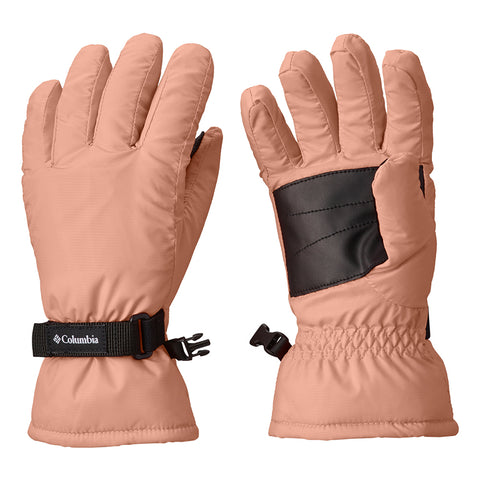 COLUMBIA GIRLS' CORE GLOVE TIKI PINK