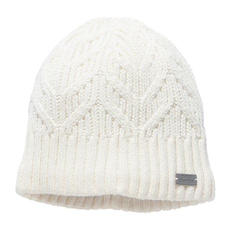 UNDER ARMOUR W AROUND TOWN BEANIE IVORY