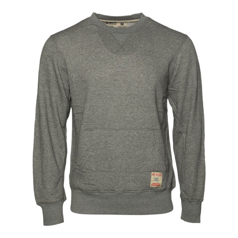 CCM MEN'S FLEECE CREW MEDIUM GREY HEATHER