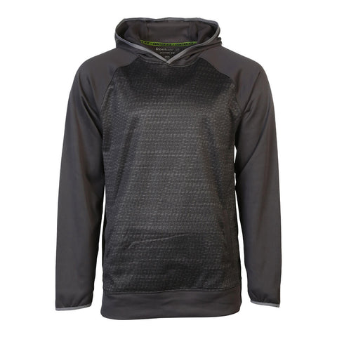 REEBOK MEN'S TNT FLEECE HOODY GRANITE