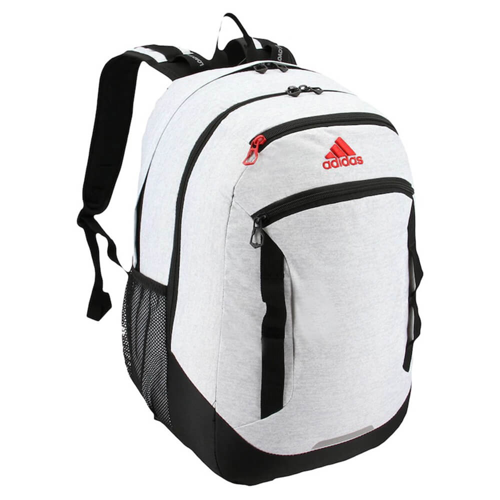 0612093c38 ADIDAS EXCEL IV BACKPACK WHITE JERSEY/BLACK/SCARLET – National Sports