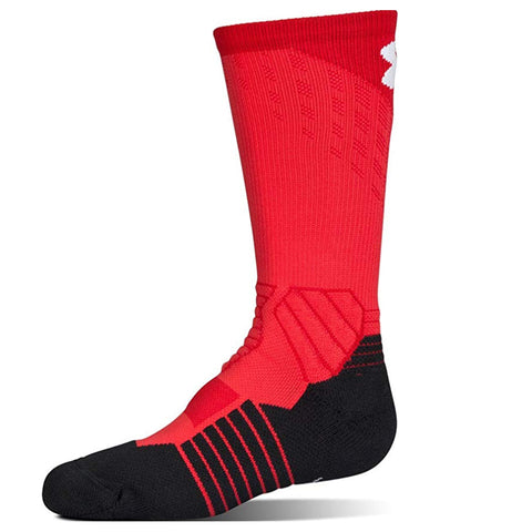 UNDER ARMOUR Y DRIVE BASKETBALL CREW YL RED