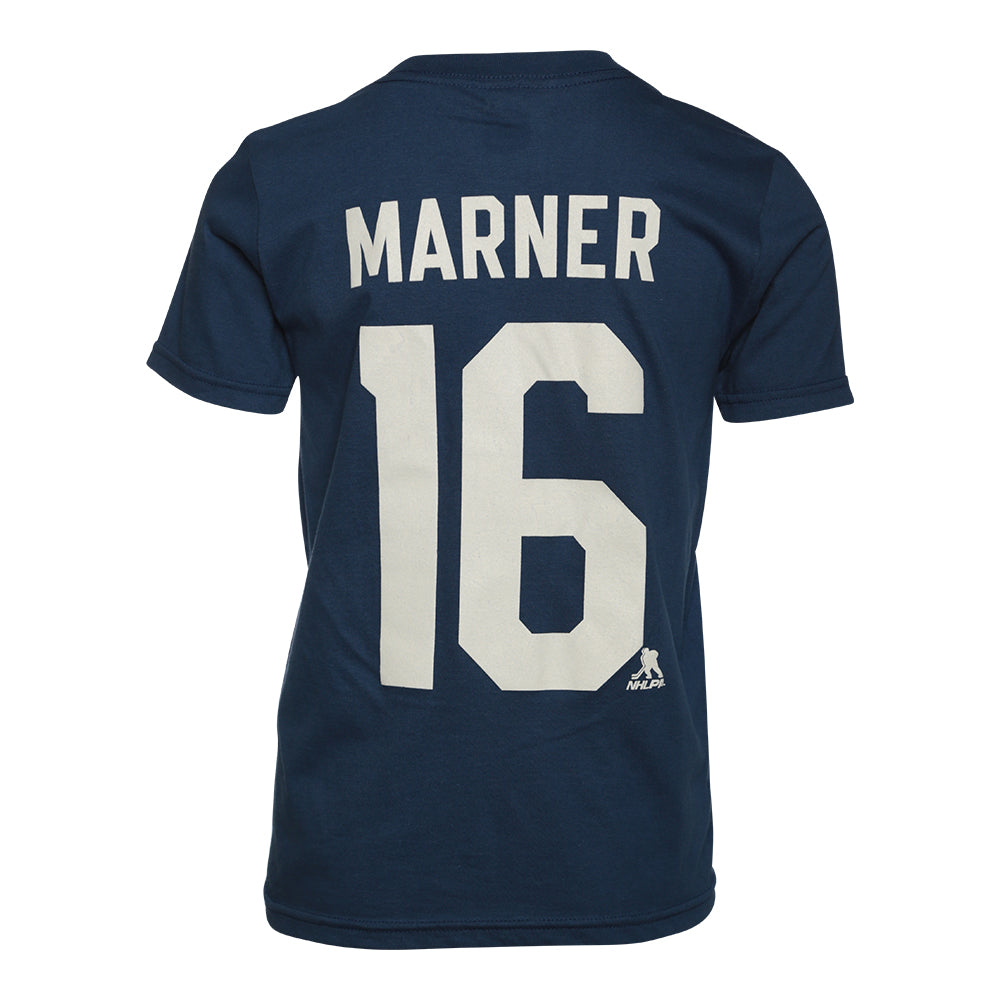 detailed look 69e2f 2901d OUTERSTUFF YOUTH TORONTO MAPLE LEAFS PLAYER TOP MARNER BLUE