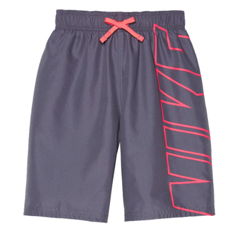 NIKE BOYS BLOCK VOLLEY 8'' SHORT LIGHT CARBON
