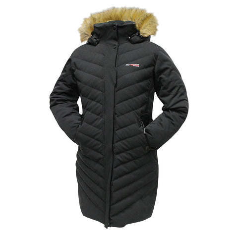ROCKWATER WOMEN'S LUMINA DOWN JACKET BLACK