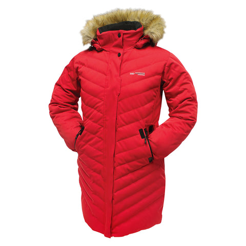 ROCKWATER WOMEN'S LUMINA DOWN JACKET RED
