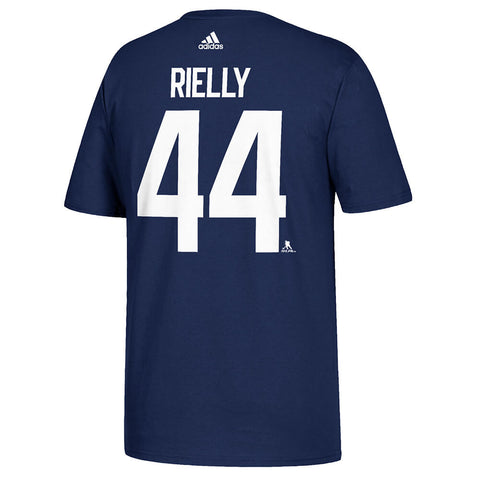 ADIDAS MEN'S TORONTO MAPLE LEAFS PLAYER TOP REILLY #44