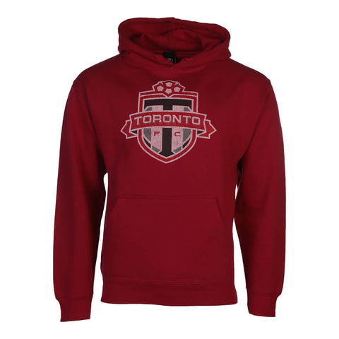 BULLETIN ATHLETIC MEN'S TFC FLEECE HOODY RED
