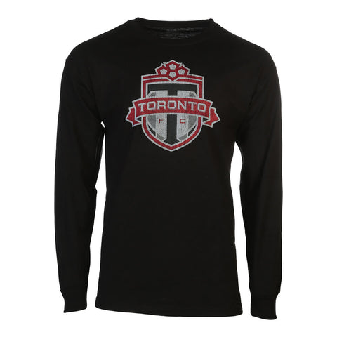 BULLETIN ATHLETIC MEN'S TFC LONG SLEEVE TOP BLACK