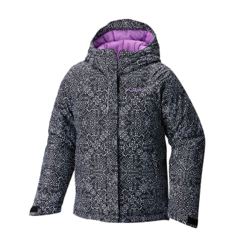 f463448d2 COLUMBIA GIRLS' TODDLER HORIZON RIDE JACKET BLACK SNOWFLAKE. Clearance.  Select options