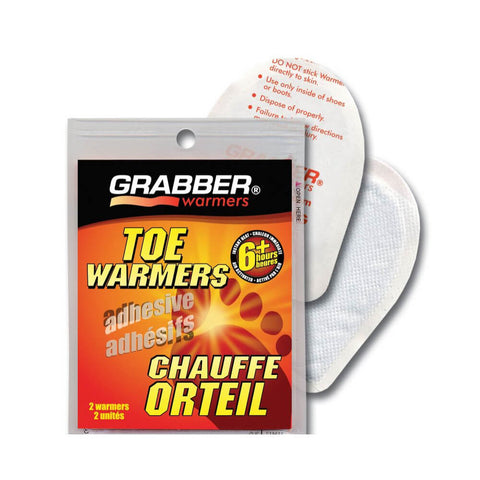 GRABBER TOE WARMERS 1 PAIR