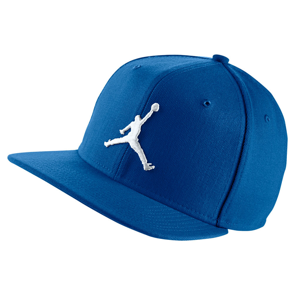 addbd2ca364 NIKE MEN S JORDAN JUMPMAN SNAPBACK HAT ROYAL WHITE – National Sports