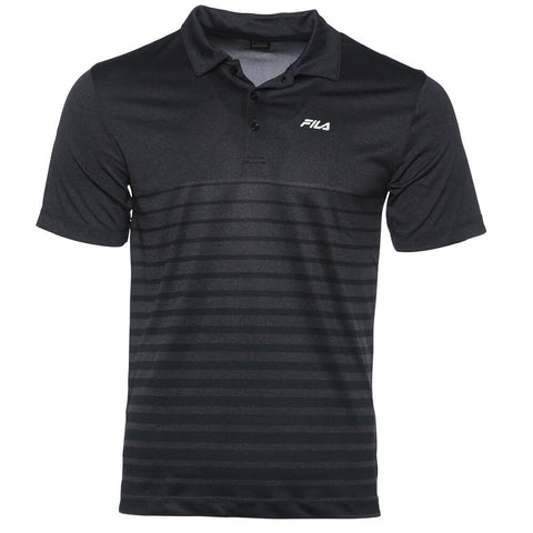 FILA MEN'S VISTA POLO NAVY HEATHER