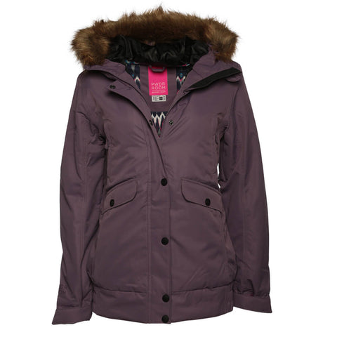 POWDER ROOM WOMEN'S CASCADE INSULATED JACKET DUSTY GRAPE