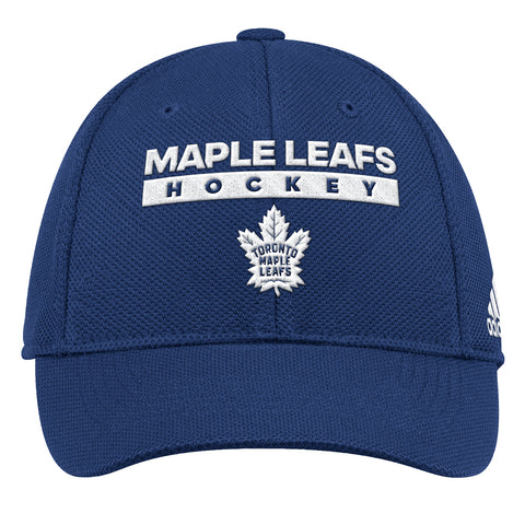 ADIDAS MEN S TORONTO MAPLE LEAFS STRUCTURED CAP ... cfadc6596e09
