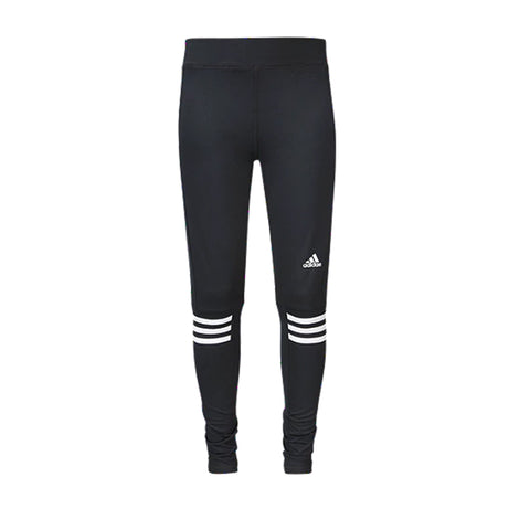 ADIDAS GIRLS' TRACK AND FIELD TIGHT BLACK