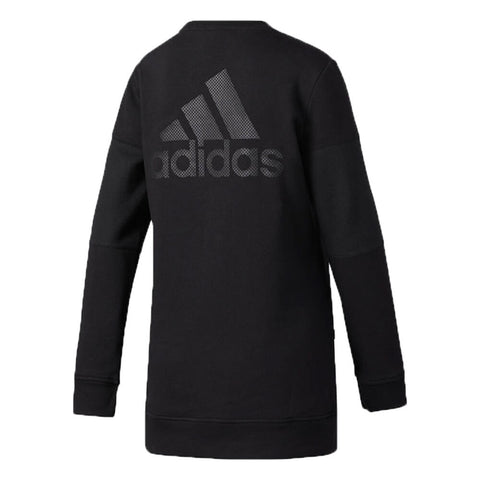 ADIDAS WOMEN'S FASHION CREW TOP BLACK