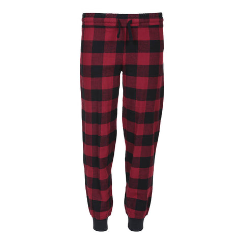 RIPZONE BOYS' FLANNEL LOUNGE PANT BUFFALO CHECK
