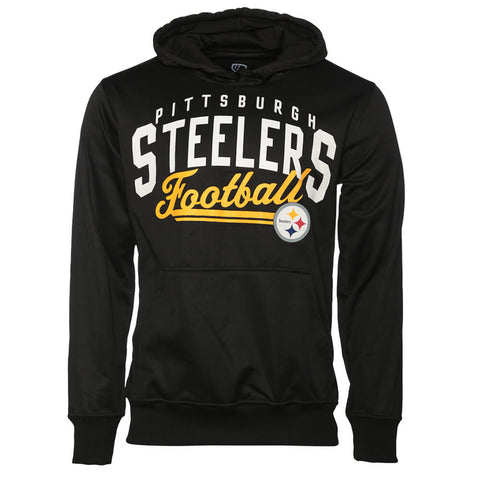 GIII MEN'S PITTSBURGH STEELERS HOODY BLACK