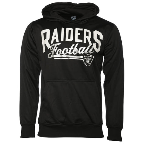 GIII MEN'S OAKLAND RAIDERS HOODY BLACK