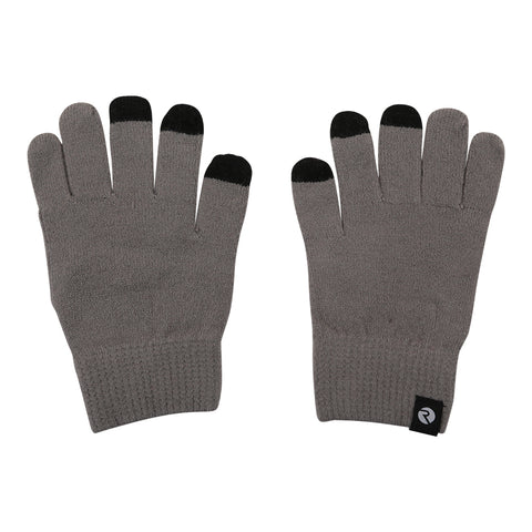 RIPZONE ADULT LOGAN TOUCH TIP GLOVE STEEPLE GRAY