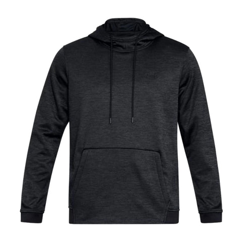 UNDER ARMOUR MEN'S ARMOUR FLEECE TWIST HOODY BLACK