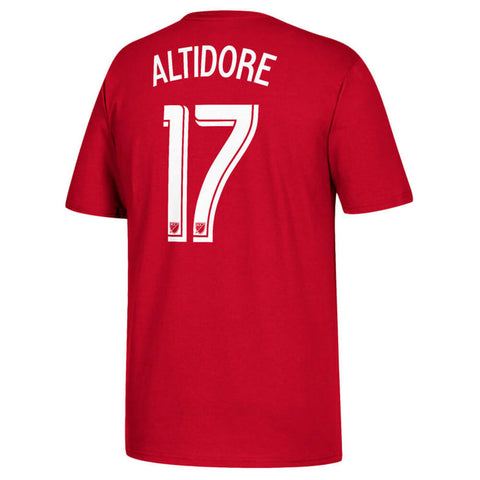 ADIDAS MEN'S TFC PLAYER TOP ALTIDORE 17 RED
