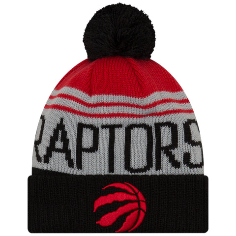 f3382769f8a NEW ERA MEN S TORONTO RAPTORS TEAM PRIDE POM BEANIE